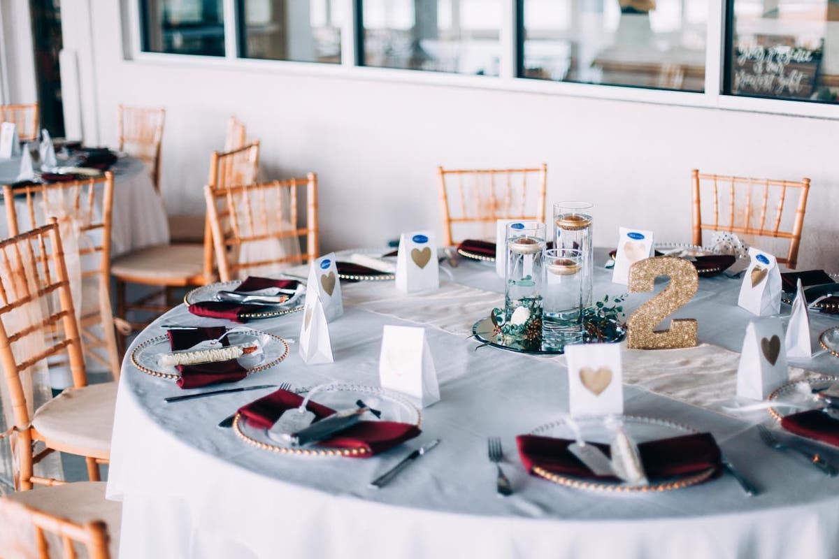 Waterfront Military Wedding
