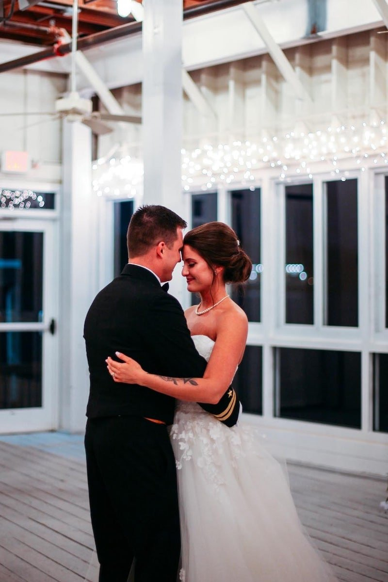 Waterfront Military Wedding Virginia Beach