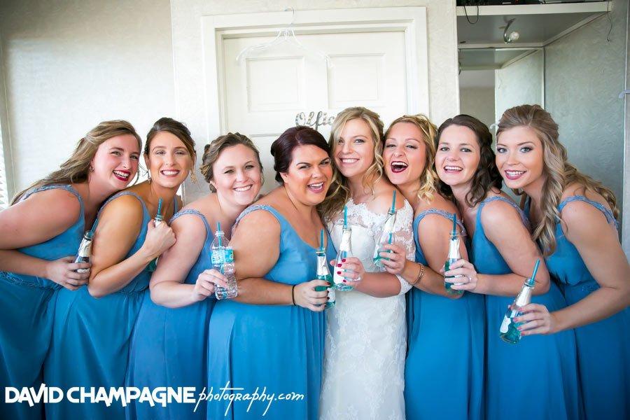 Bridesmaids - Blanc de Bleu - David Champagne