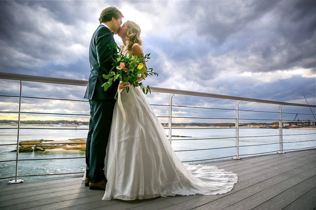 Waterfront View Wedding