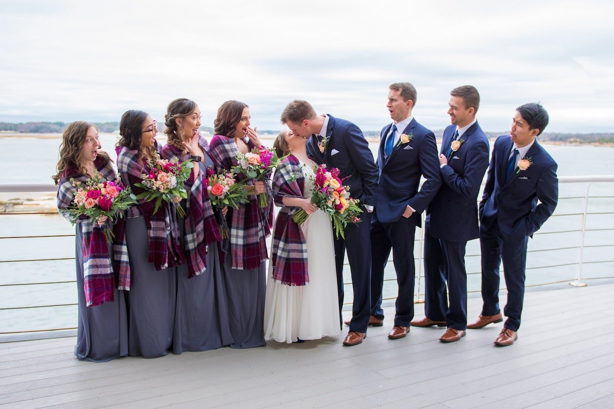 Winter Wedding Waterfront