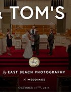 BRIDGET & TOM'S WEDDING, East Beach Photography